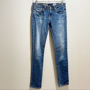 ADRIANO GOLDSCHMIED THE STILT CIGARETTE LEG Jeans